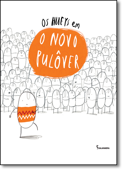 Hueys em o Novo Pulôver, Os, livro de Oliver Jeffers