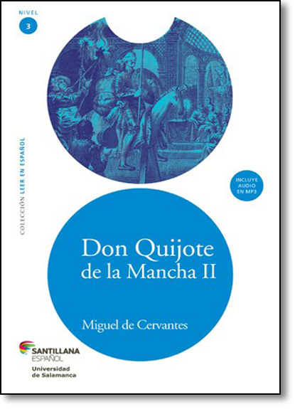 Don Quijote de La Mancha Il, livro de Miguel de Cervantes
