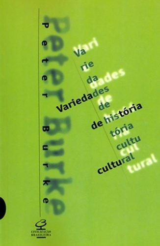 Variedades de História Cultural, livro de Peter Burke