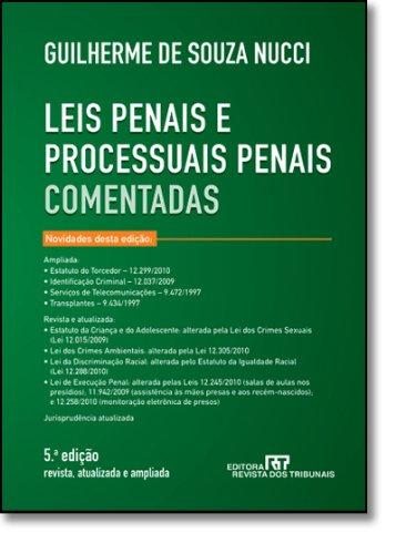 Leis Penais E Processuais Penais Comentadas, livro de Guilherme De Souza Nucci