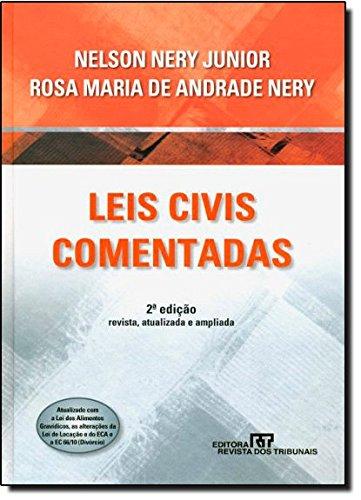 Leis Civis Comentadas, livro de Nelson Nery Junior, Rosa Nery