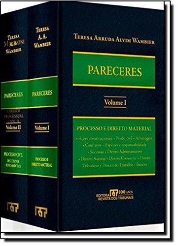 Pareceres, livro de Teresa Arruda Alvim Wambier