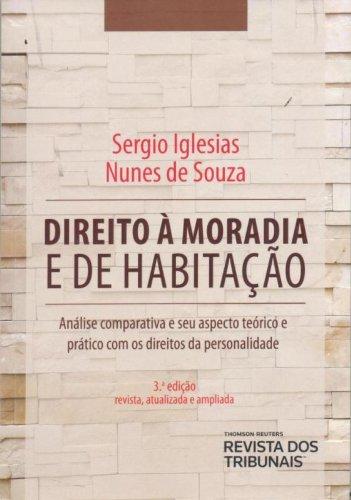 Direito à Moradia e de Habitação, livro de Sergio Iglesias Nunes de Souza