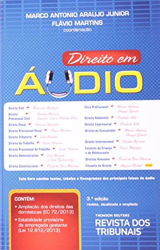 Direito Em Áudio (+ CD-ROM), livro de Marco Antonio Araujo Júnior