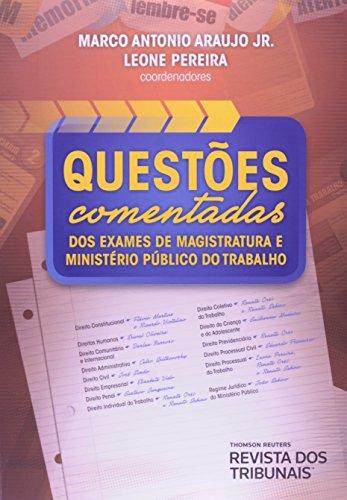 Questoes Comentadas Dos Exames De Magistratura E Ministerio Publico Do, livro de Darlan^Araujo Junior, Marco Antonio Barroso