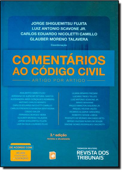 Comentários ao Código Civil, livro de Jorge Shiguemitsu Fujita