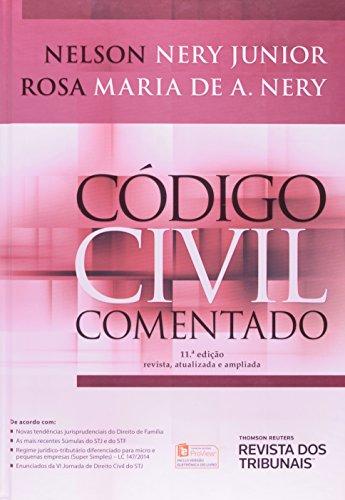 Código Civil Comentado, livro de Nelson Nery Junior