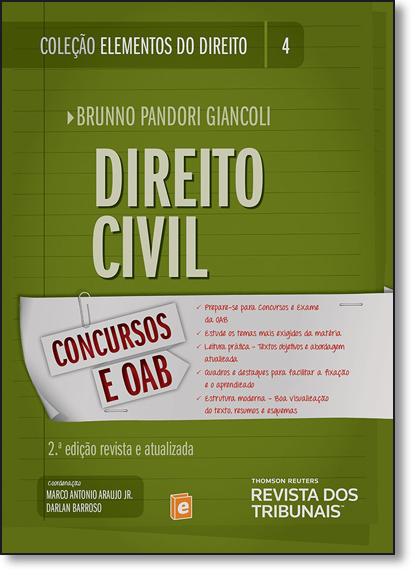 Direito Civil - Vol.4 - Coleção Elementos do Direito, livro de Brunno Pandori Giancoli