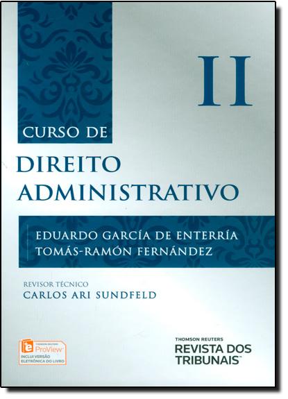 Curso de Direito Administrativo - Vol.2, livro de Eduardo Garcia de Enterria