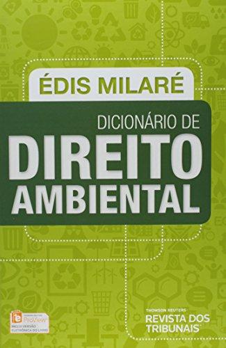 Dicionário de Direito Ambiental, livro de Édis Milaré