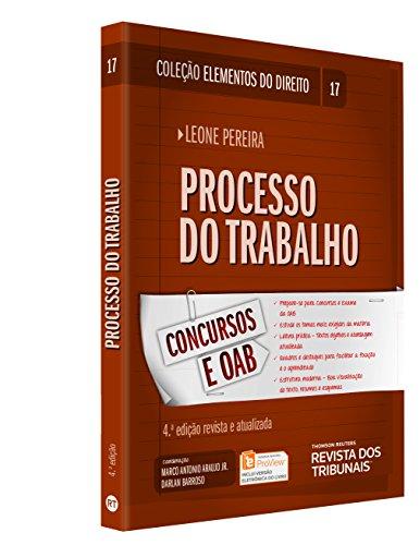 Processo do Trabalho, livro de Leone Pereira, Darlan Barroso, Marco Antonio Araujo Junior
