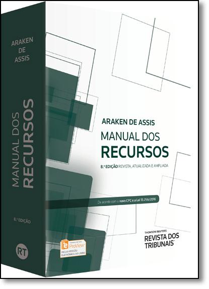 Manual dos Recursos, livro de Araken de Assis