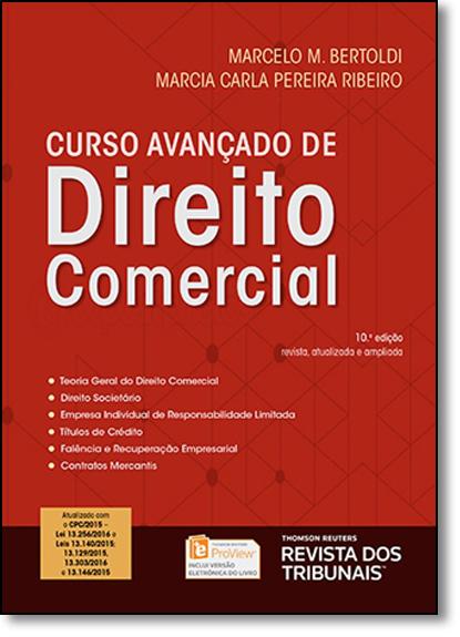 Curso Avançado de Direito Comercial, livro de Marcelo M. Bertoldi
