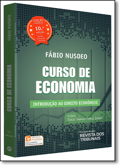 Curso de Economia: Introdução ao Direito Econômico, livro de Fabio Nusdeo