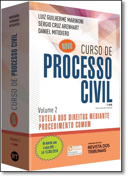 Novo Curso de Processo Civil: Tutela dos Direitos Mediante Procedimento Comum - Vol.2, livro de Luiz Guilherme Marinoni