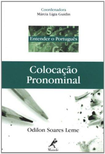 Colocação Pronominal , livro de Leme, Odilon Soares