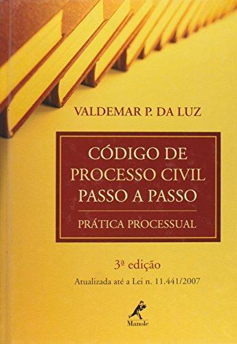 Código de Processo Civil Passo a Passo, livro de Luz, Valdemar P. da