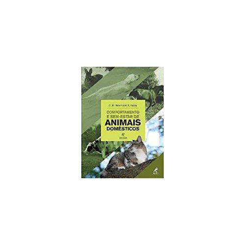 Comportamento e bem-estar de animais domesticos, livro de Fraser, A.F. / Broom, D.M.