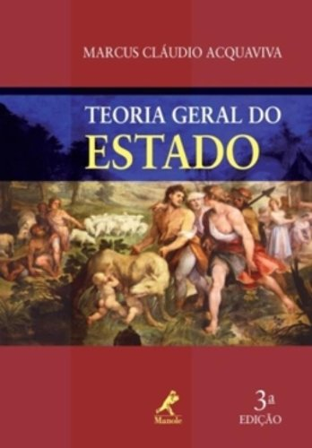Teoria Geral do Estado , livro de Acquaviva, Marcus Cláudio