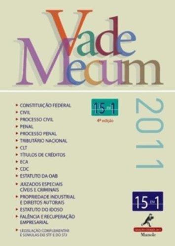 Vade Mecum – 4ª edição, livro de Editoria Jurídica da Editora Manole
