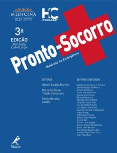 Pronto-socorro-medicina de emergência, livro de Martins, Herlon Saraiva / Damasceno, Maria Cecília de Toledo / Awada, Soraia Barakat