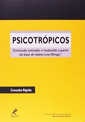 Psicotrópicos, livro de Bisson, Marcelo Polacow (consultor editorial)
