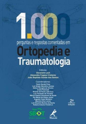 1000 perguntas e respostas comentadas em ortopedia e traumatologia, livro de Percope, Marco A.