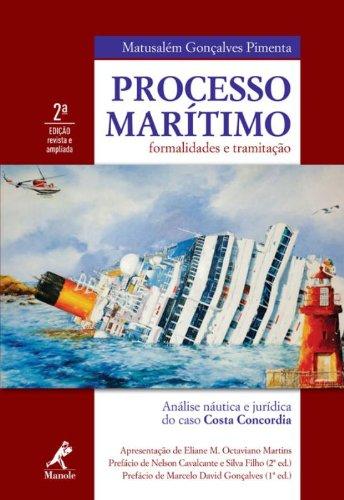 Processo Marítimo-Formalidades e tramitação, livro de Pimenta, Matusalém Gonçalves