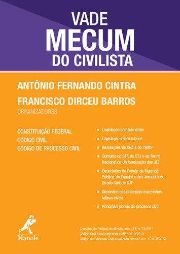 Vade mecum do civilista, livro de Cintra, Antônio Fernando / Barros, Francisco Dirceu