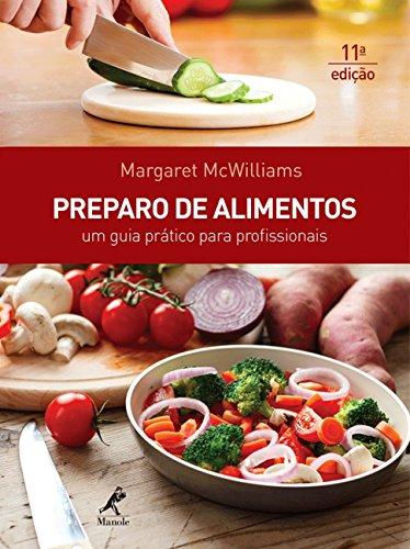 Preparo de Alimentos, livro de Margaret Mcwilliams