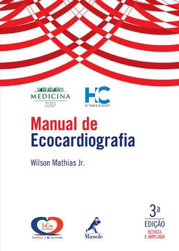 Manual de ecocardiografia, livro de Mathias Jr., Wilson