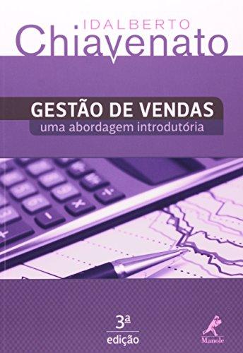 Gestão de vendas-uma abordagem introdutória, livro de Chiavenato, Idalberto
