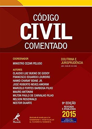 Código Civil comentado-doutrina e jurisprudência, livro de Peluso, Cezar