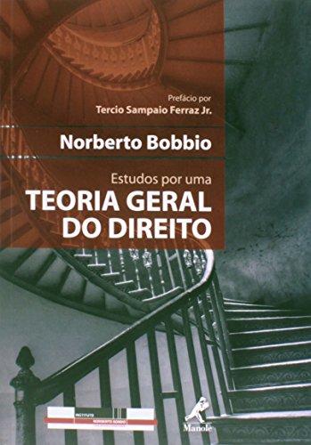 Estudos por uma teoria geral do direito, livro de Bobbio, Norberto