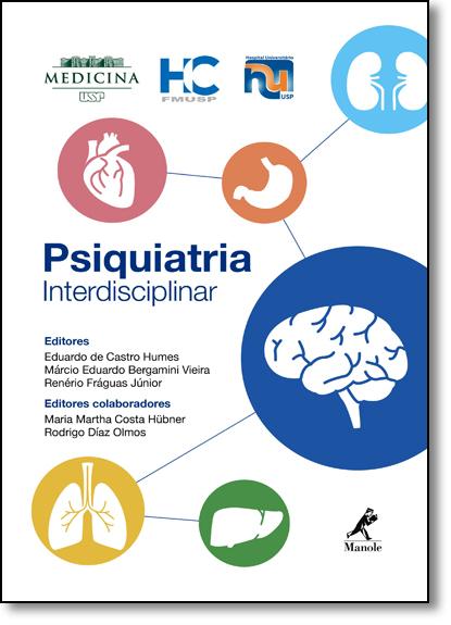 Psiquiatria Interdisciplinar, livro de Eduardo de Castro Humes