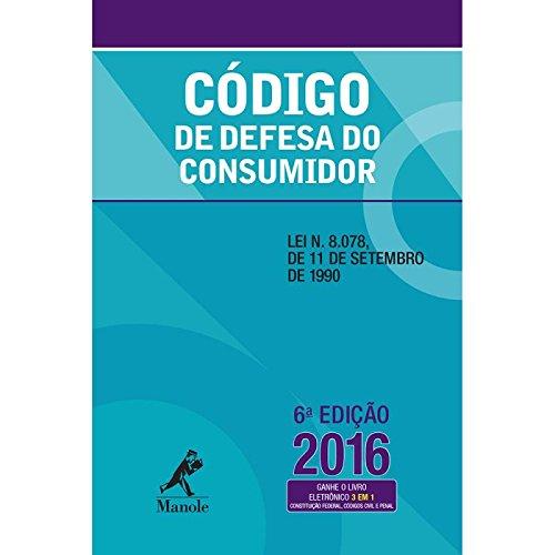 Código de Defesa do Consumidor, livro de Editoria Jurídica da Editora Manole