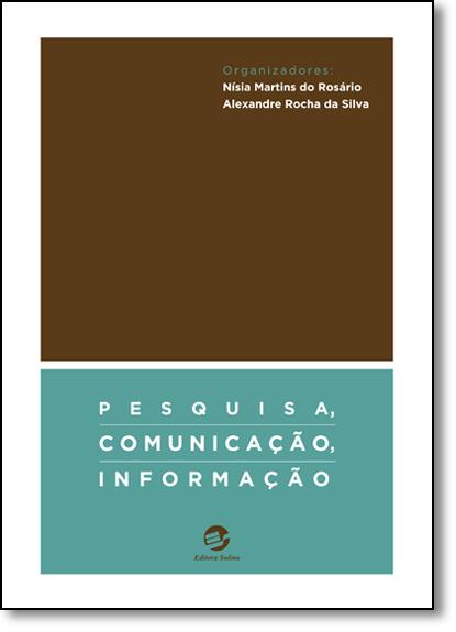 Pesquisa, Comunicação, Informação, livro de Nisia Martins do Rosário