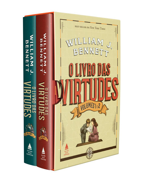 Box: O Livro das Virtudes - 2 Volumes, livro de William Bennett
