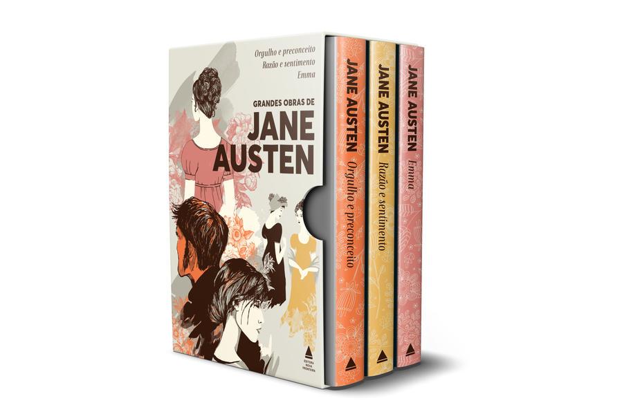 Box Grandes Obras de Jane Austen, livro de Jane Austen