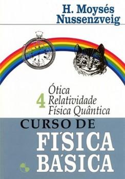 Curso de física básica - Ótica, relatividade, física quântica, livro de Herch Moysés Nussenzveig