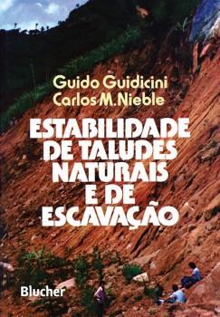 Estabilidade de taludes naturais e de escavação, livro de Carlos M. Nieble, Guido Guidicini
