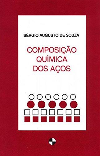 Composição química dos aços, livro de Sérgio Augusto De Souza