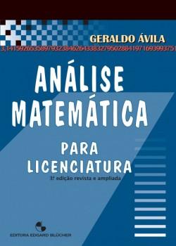 Análise matemática para licenciatura , livro de Geraldo Ávila
