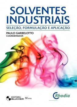 Solventes industriais, livro de Paulo Garbelotto