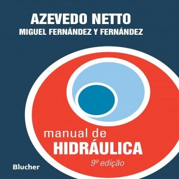 Manual de hidráulica, livro de Miguel Fernández Y Fernández, Azevedo Netto