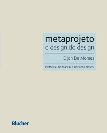 Metaprojeto - O design do design, livro de Dijon De Moraes