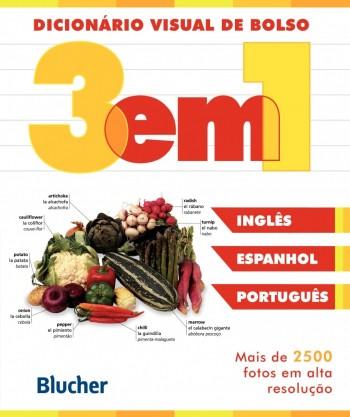 Dicionário Visual de bolso (espanhol/inglês/português), livro de