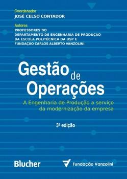 Gestão de operações , livro de José Celso Contador