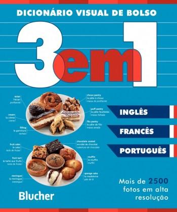 Dicionário Visual de bolso (francês/inglês/português), livro de