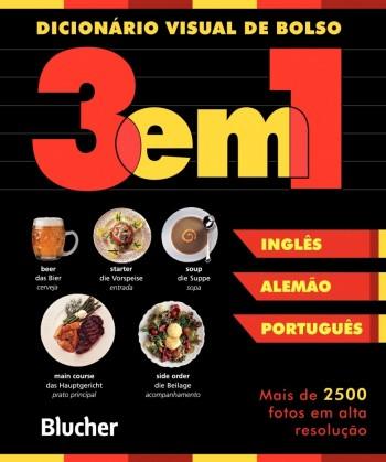 Dicionário Visual de bolso (alemão/inglês/português), livro de
